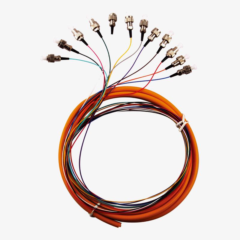ربط الوتر 12 متعدد الألوان ضفيرة FC / UPC